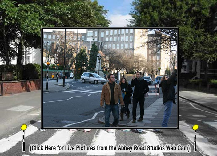 The Abbey Road crossing webcam